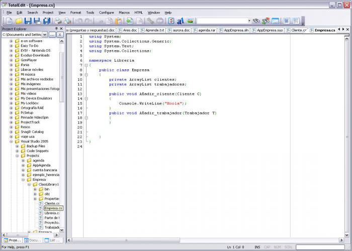 Besplatni programi za programiranje